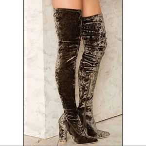 New | Nasty Gal | Over the Knee High Boots